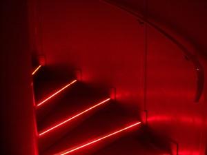 Rote Treppenhaus